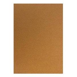 Karten und Scrapbooking Papier, Papier blöcke Kartonset Metallic A5, le cuivre, 20 feuilles, 250g