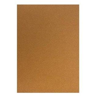 Karten und Scrapbooking Papier, Papier blöcke Kartonset Metallic A5, rame, 20 fogli, 250g