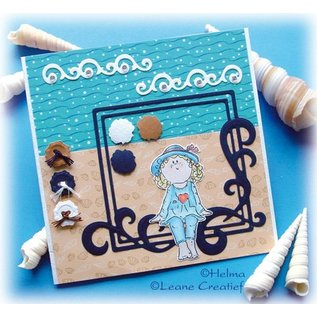 Leane Creatief - Lea'bilities und By Lene Transparent Stempel, Bambini Mädchen