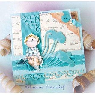 Leane Creatief - Lea'bilities und By Lene Clear stempels, Bambini jongens