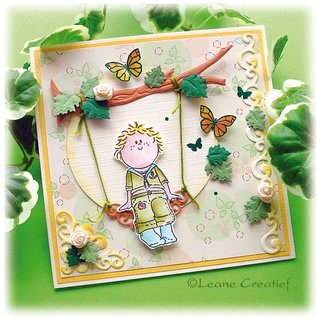 Leane Creatief - Lea'bilities und By Lene Clear stamps, Bambini boys