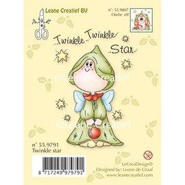 Leane Creatief - Lea'bilities und By Lene Transparent Stempel, Twinkle star - zurück vorrätig!
