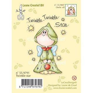 Leane Creatief - Lea'bilities und By Lene Clear stempels, Twinkle Star