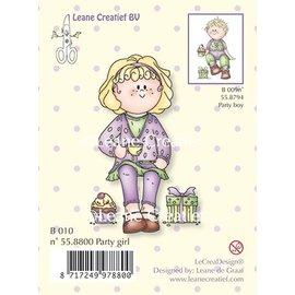 Leane Creatief - Lea'bilities und By Lene Sellos transparentes Party girl