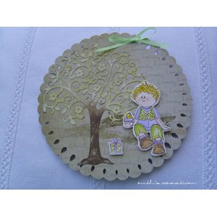 Leane Creatief - Lea'bilities und By Lene Clear stamps, Party Boy