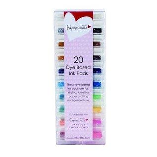20 mini rilievo di inchiostro