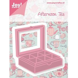 Joy!Crafts / Jeanine´s Art, Hobby Solutions Dies /  Punch and pre-template, tea box