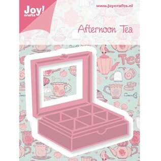 Joy!Crafts / Jeanine´s Art, Hobby Solutions Dies /  Ponsen en embossingmal teebox