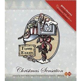 Yvonne Creations Stamp, Yvonne Creations, boîte aux lettres de Noël