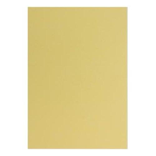 Karten und Scrapbooking Papier, Papier blöcke 20 feuilles A5 Papierset métallisé, Creme