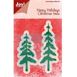 Joy!Crafts / Jeanine´s Art, Hobby Solutions Dies /  Punzonatura e modello di goffratura, alberi