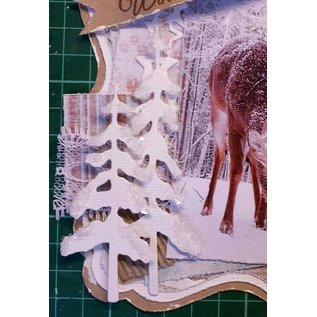 Joy!Crafts / Jeanine´s Art, Hobby Solutions Dies /  Punching and embossing template, trees