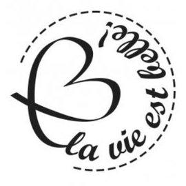 Stempel / Stamp: Holz / Wood Holzstempel, französische Texte