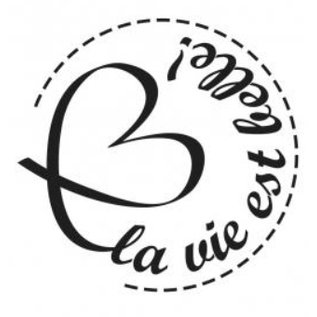 Stempel / Stamp: Holz / Wood Holzstempel, Franse teksten