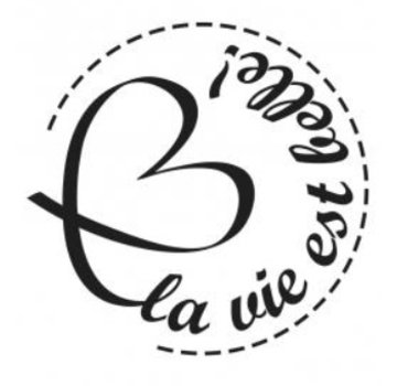Stempel / Stamp: Holz / Wood Holzstempel, testi in lingua francese