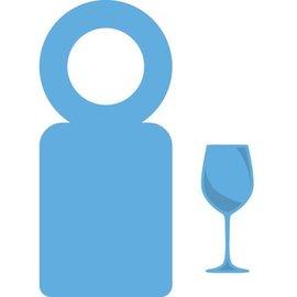 Marianne Design Punzonado y de la plantilla de estampado Creatables - etiqueta de la botella