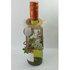 Marianne Design Bokse og preging mal Creatables - flaskens etikett