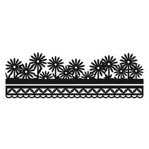 Marianne Design Poinçonnage et de modèle de gaufrage Craftables - fleur de la frontière Anja