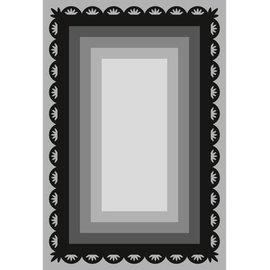 Marianne Design Stansning og prægning skabelon Craftables, 6 frame rektangler