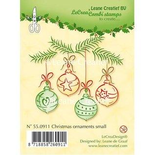 Leane Creatief - Lea'bilities und By Lene Clear Stamps, kerstballen