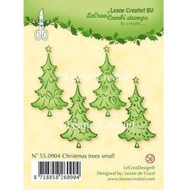 Leane Creatief - Lea'bilities und By Lene Gennemsigtige frimærker, juletræer