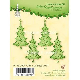Leane Creatief - Lea'bilities und By Lene Transparent stamps, Christmas trees