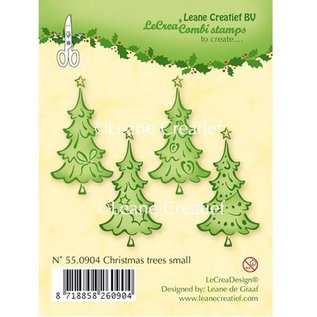 Leane Creatief - Lea'bilities und By Lene Transparente Stempel, Weihnachtsbäume