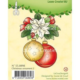 Leane Creatief - Lea'bilities und By Lene Sellos Claro, adorno de Navidad 2