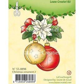 Leane Creatief - Lea'bilities und By Lene Timbres claires, ornement de Noël 2