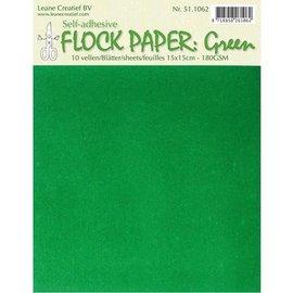 BASTELZUBEHÖR, WERKZEUG UND AUFBEWAHRUNG Multitud de papel Auto, verde