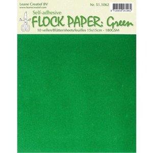 BASTELZUBEHÖR, WERKZEUG UND AUFBEWAHRUNG papier auto de Flock, vert