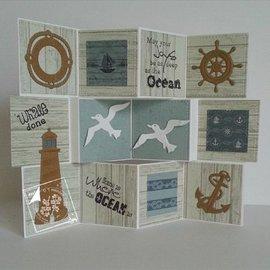 Joy!Crafts / Jeanine´s Art, Hobby Solutions Dies /  Transparent stempel på og i havet