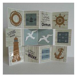 Joy!Crafts / Jeanine´s Art, Hobby Solutions Dies /  Sello transparente en como en el mar