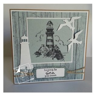 Joy!Crafts / Jeanine´s Art, Hobby Solutions Dies /  Transparent stamp on and at sea