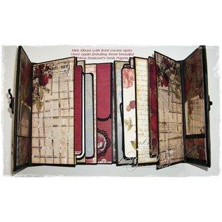 Prima Marketing und Petaloo Designerblock, Stationers Desk, 15,24 x 15,24 cm