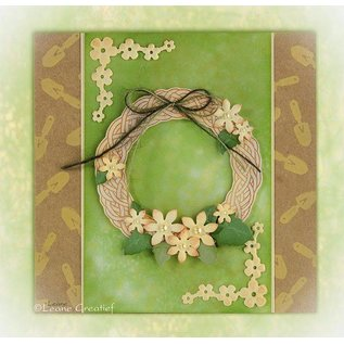 Leane Creatief - Lea'bilities und By Lene Clear stamps, Leane Creative, Spring Wreath