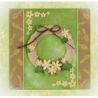 Leane Creatief - Lea'bilities und By Lene Clear stempels, Leane Creatief, Spring Krans