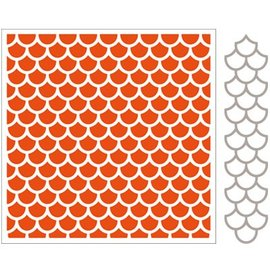Marianne Design Dossiers gaufrage + modèle de poinçon