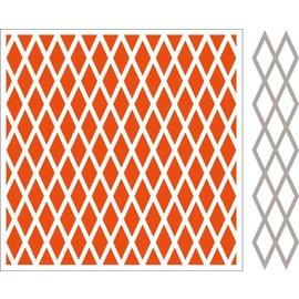 Marianne Design Carpetas de repujado + plantilla de perforación
