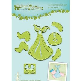Leane Creatief - Lea'bilities und By Lene Leabilities, cutting and embossing stencil, baby