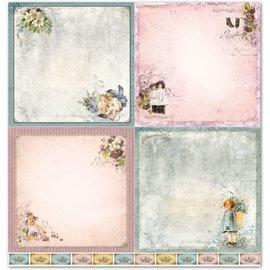 """LaBlanche Carta di design LaBlanche """"Bambini / Bebè 1"""" pura nostalgia!"""