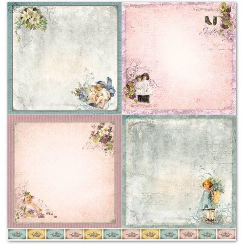 """LaBlanche LaBlanche Designpapier """"Kinder / Baby 1"""" nostalgie Pur!"""
