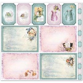 """LaBlanche LaBlanche Design Paper """"Children / Baby 6"""" nostalgie Puur! LAATSTE designer papers"""