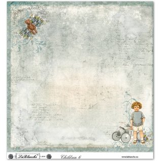 """LaBlanche LaBlanche Designpapier """"Kinder / Baby 6"""" nostalgie Pur! LETZTE Designerpapiere"""