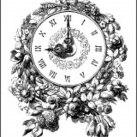 LaBlanche Lablanche Stamp: Orologio romantica con fiori