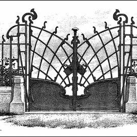 LaBlanche LaBlanche Stempel: Das goldenen Tor