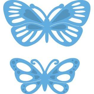Marianne Design Cutting en embossing stencils, LR0357, Creatables, Tiny's vlinders