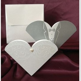 BASTELSETS / CRAFT KITS NEW: Exclusive Wedding Card Bride and Groom - LAST SETS!
