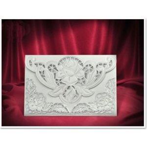 BASTELSETS / CRAFT KITS 3 Carte exclusive Rose des enveloppes blanches +