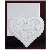 BASTELSETS / CRAFT KITS NIEUW: Exclusieve Edele hart kaarten met folie en glitter